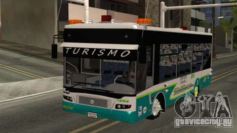 Lazcity Midibus Stylo Colombia для GTA San Andreas