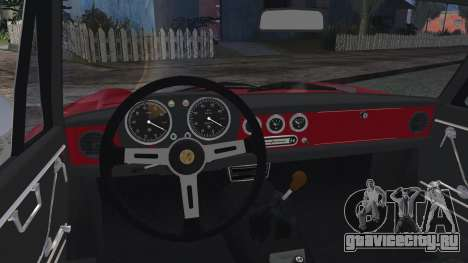 Alfa Romeo Spider Duetto 1966 для GTA San Andreas вид сзади слева