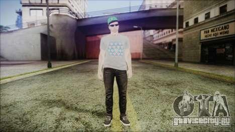 GTA Online Skin 45 для GTA San Andreas второй скриншот