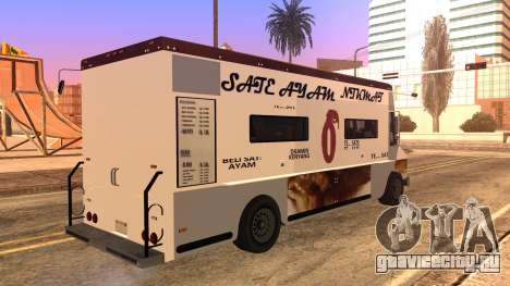Sate Ayam (Chicken Satay) Van для GTA San Andreas вид слева