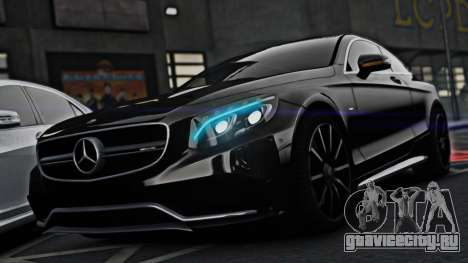 Mercedes-Benz S63 Coupe AMG 2015 для GTA 4
