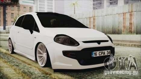 Fiat Punto хэтчбек 3 дв для GTA San Andreas