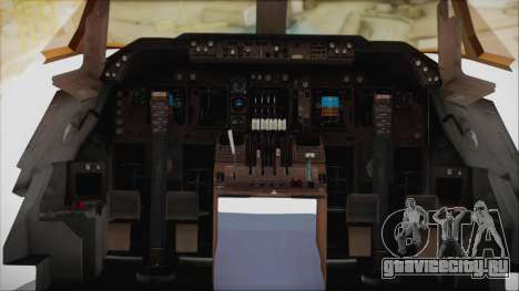 Boeing 747-128B Air France для GTA San Andreas вид изнутри