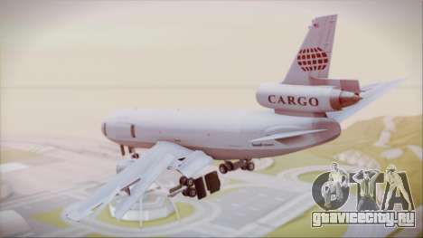 McDonnell-Douglas DC-10-30F World Airways для GTA San Andreas вид слева