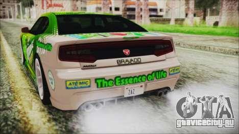 GTA 5 Bravado Buffalo Sprunk для GTA San Andreas вид сбоку