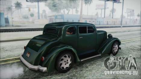 Hustler Beta для GTA San Andreas вид слева