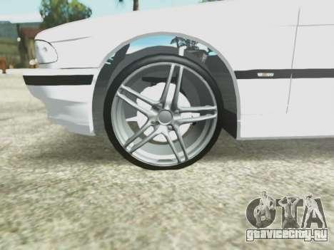 BMW 750i для GTA San Andreas вид сбоку