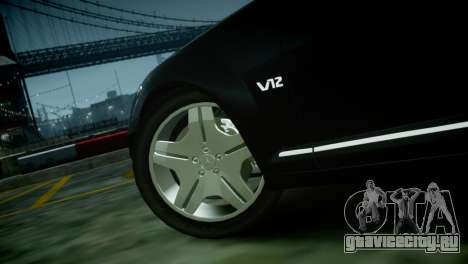 Mercedes-Benz S600 2011 для GTA 4 вид справа