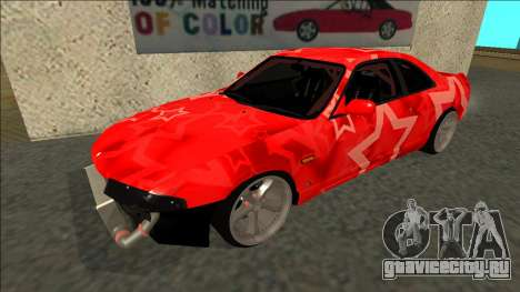 Nissan Skyline R33 Drift Red Star для GTA San Andreas