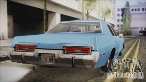 Dodge Monaco 1974 Civilian для GTA San Andreas вид слева