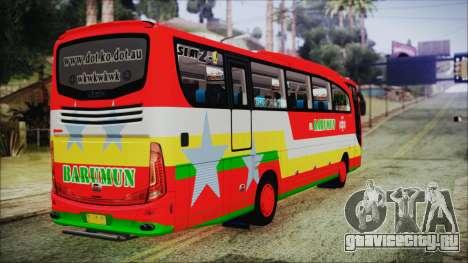 Bus Pt.BARUMUN Sibuhuan для GTA San Andreas вид слева