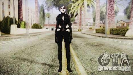 Black Hair Domino from Deadpool для GTA San Andreas второй скриншот