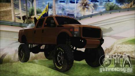 Ford F-250 Grenade Truck для GTA San Andreas
