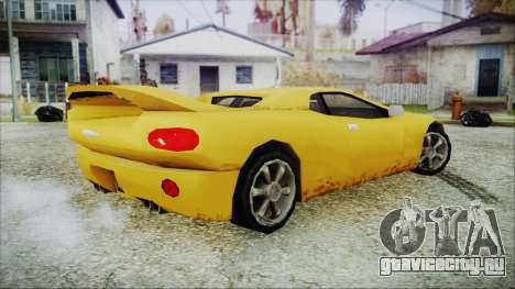 Gangsta Infernus для GTA San Andreas вид сзади слева