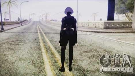 Black Hair Domino from Deadpool для GTA San Andreas третий скриншот