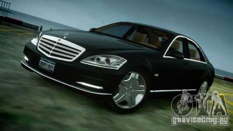 Mercedes-Benz S600 2011 для GTA 4