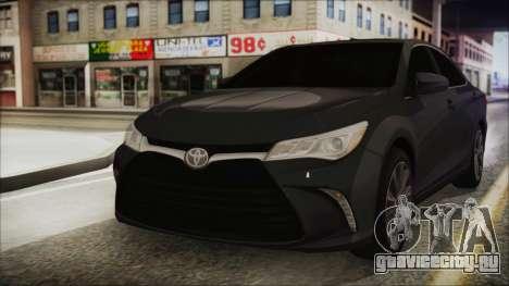Toyota Camry для GTA San Andreas