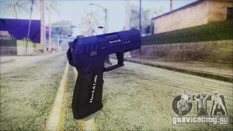 GTA 5 Combat Pistol v2 - Misterix 4 Weapons для GTA San Andreas второй скриншот