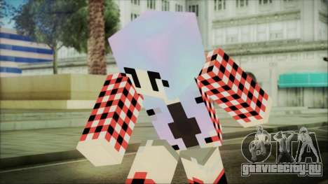 Minecraft Female Skin Edited для GTA San Andreas