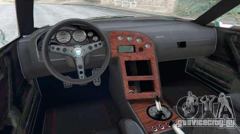 Grotti Cheetah Classic для GTA 5 вид сзади справа