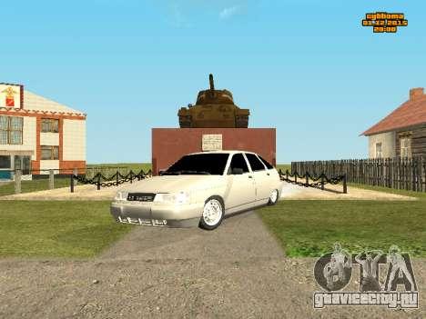 Ваз 2112 Бункер 0.1v для GTA San Andreas вид слева
