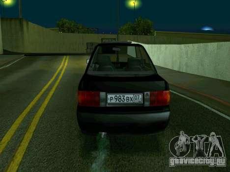 Audi 80 для GTA San Andreas вид сзади слева