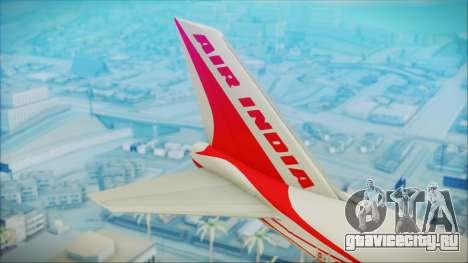 Boeing 747-237Bs Air India Himalaya для GTA San Andreas вид сзади слева