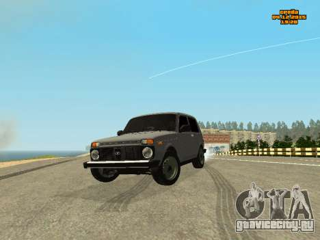 ВАЗ 2123 Нива Автозвук для GTA San Andreas