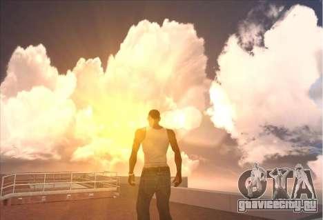 SkyBox and Lensflare для GTA San Andreas