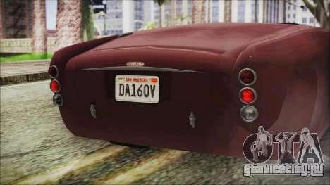 GTA 5 Declasse Mamba IVF для GTA San Andreas вид изнутри