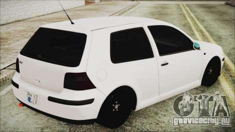 Volkswagen Golf 4 Romanian Edition для GTA San Andreas вид слева