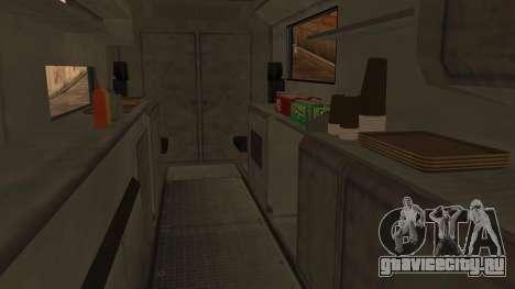 Sate Ayam (Chicken Satay) Van для GTA San Andreas вид справа