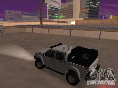 Chevrolet LUV D-MAX 2014 OffRoad (IVF) для GTA San Andreas вид слева