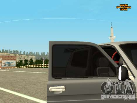 ВАЗ 2123 Нива Автозвук для GTA San Andreas вид справа