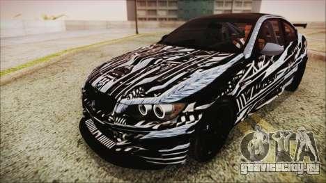 BMW M3 GTS 2011 IVF для GTA San Andreas колёса
