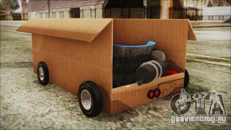 Kart-Box для GTA San Andreas вид слева