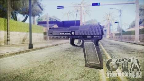 GTA 5 Pistol .50 v2 - Misterix 4 Weapons для GTA San Andreas второй скриншот