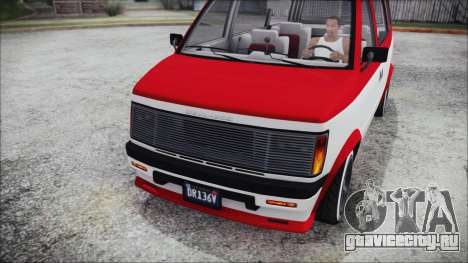 GTA 5 Declasse Moonbeam Bobble Version IVF для GTA San Andreas вид справа
