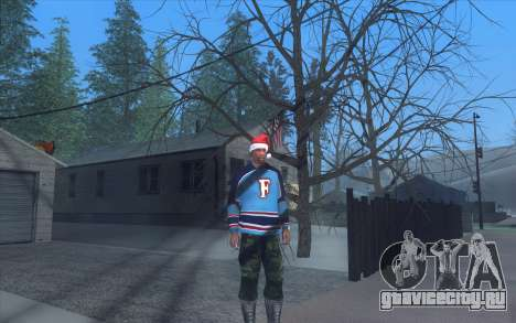 Winter Vacation 2.0 SA-MP Edition для GTA San Andreas четвёртый скриншот
