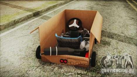 Kart-Box для GTA San Andreas вид сзади слева