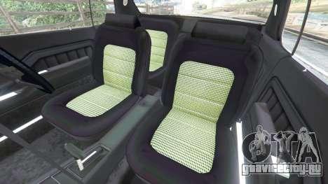 Holden Monaro GTS для GTA 5 вид справа