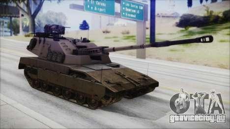 M4 Scorcher Self Propelled Artillery для GTA San Andreas