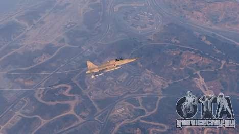 Northrop F-5E Tiger II USA для GTA 5