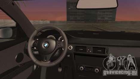 BMW M3 GTS 2011 IVF для GTA San Andreas вид справа