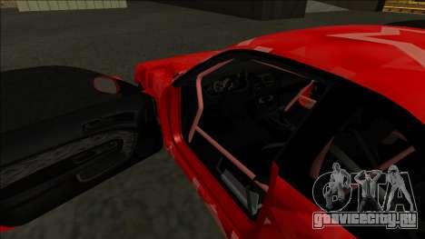 Nissan Silvia S14 Drift Red Star для GTA San Andreas салон