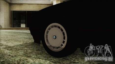 BMW 525i E34 1992 для GTA San Andreas вид сзади слева