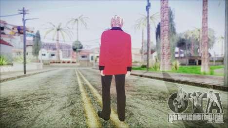 Skin DLC Executive Xmas для GTA San Andreas третий скриншот