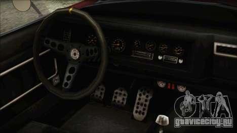 GTA 5 Declasse Mamba IVF для GTA San Andreas вид справа