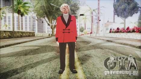 Skin DLC Executive Xmas для GTA San Andreas второй скриншот