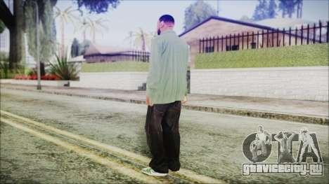 GTA 5 Grove Gang Member 1 для GTA San Andreas третий скриншот